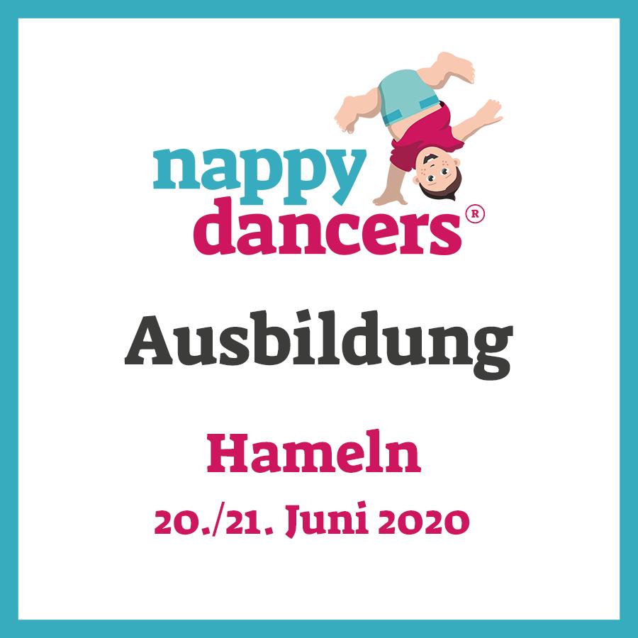 nappydancers®Kursleiterausbildung 21./22. Juni 2020 – Hameln