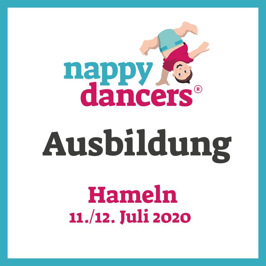 nappydancers®Kursleiterausbildung 11./12. Juli 2020 – Hameln