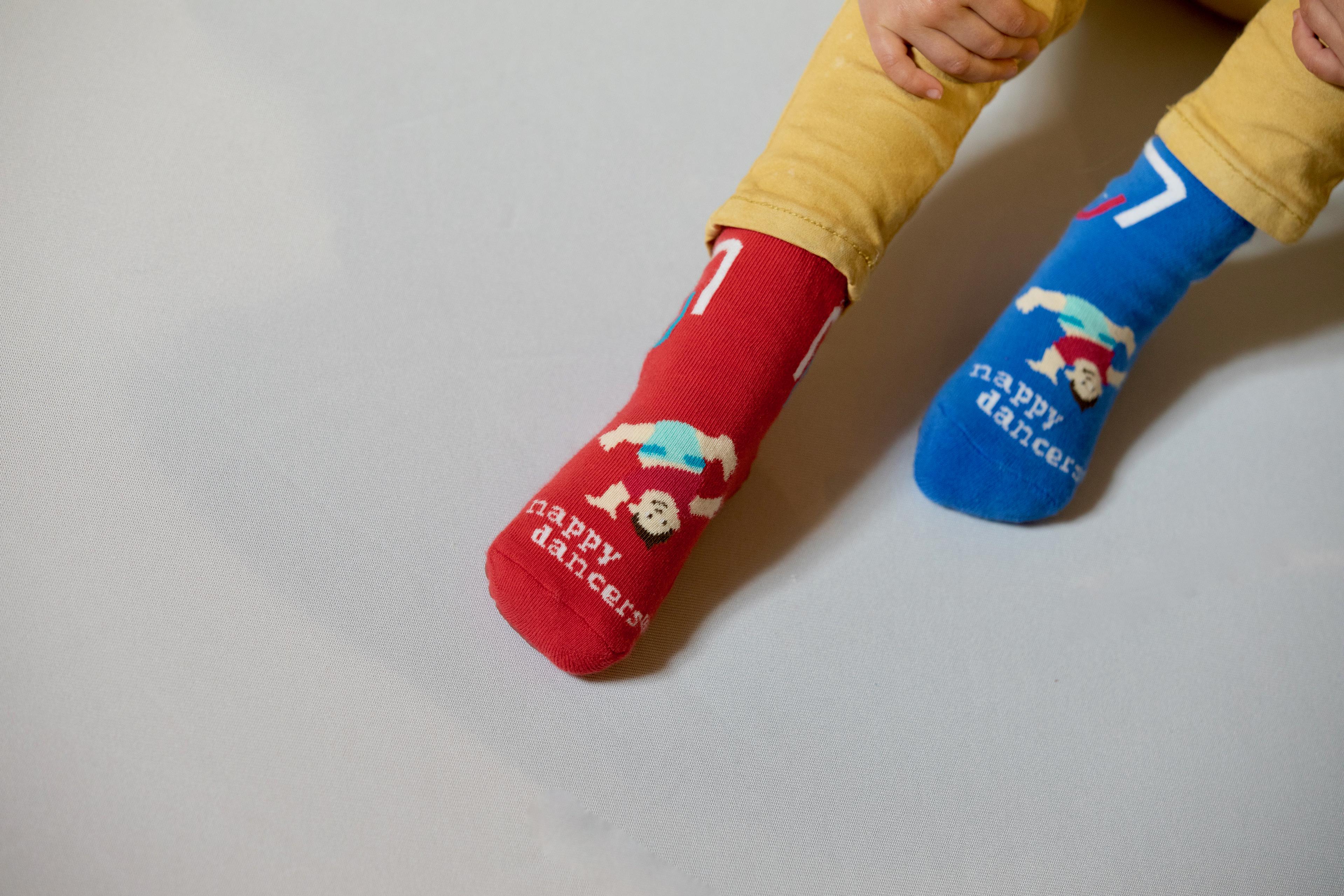 Die nappydancers®Stoppersocken für Kinder