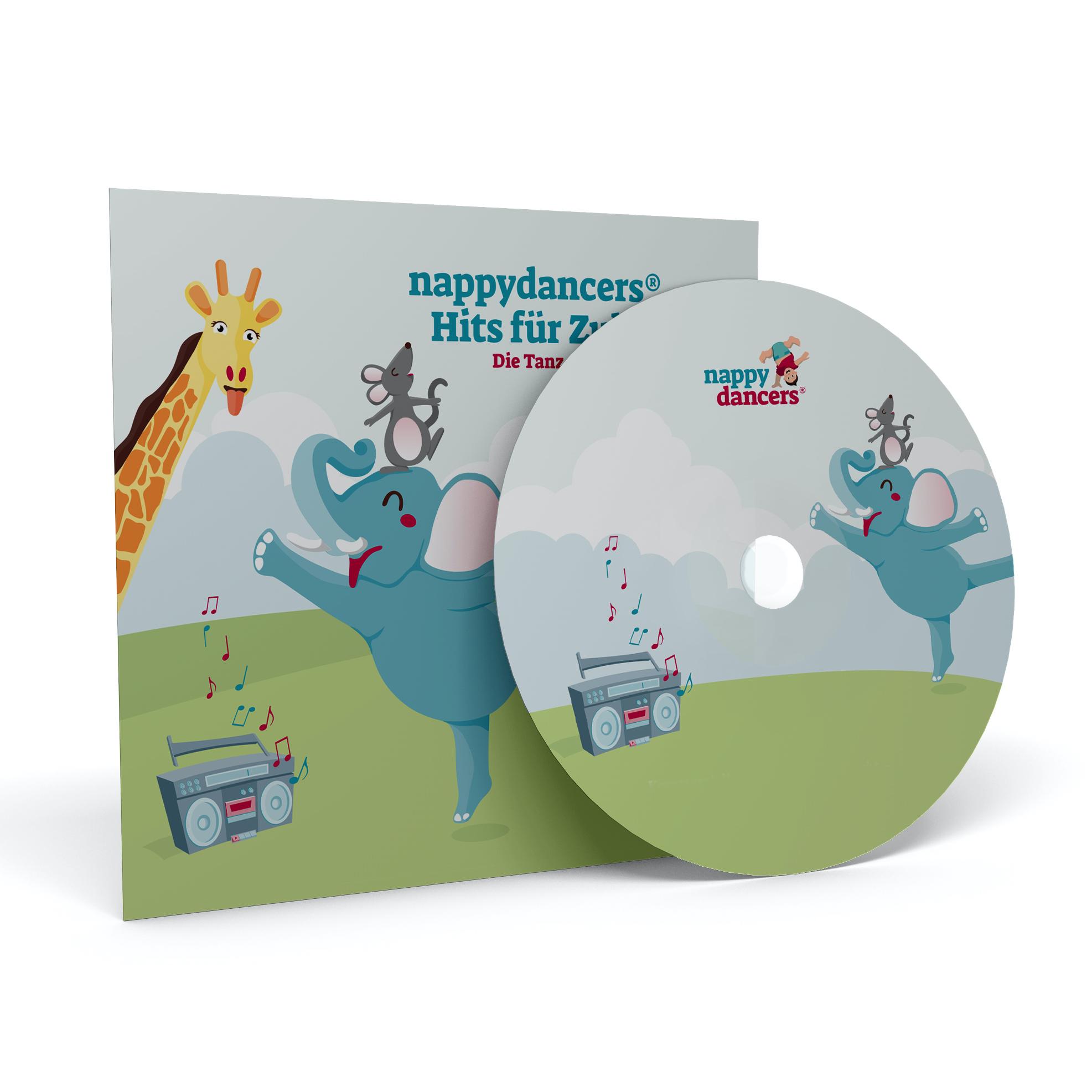Die CD zum Kurs –nappydancers®Hits für Zuhause