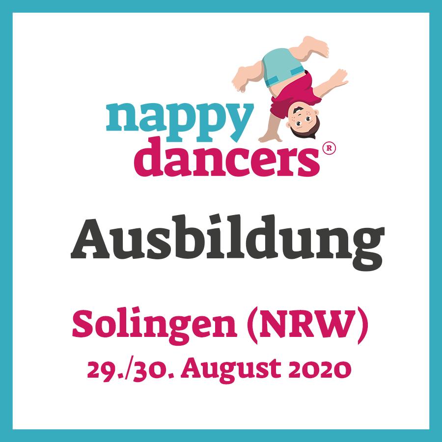 nappydancers®Kursleiterausbildung 29./30. August – Solingen (NRW)