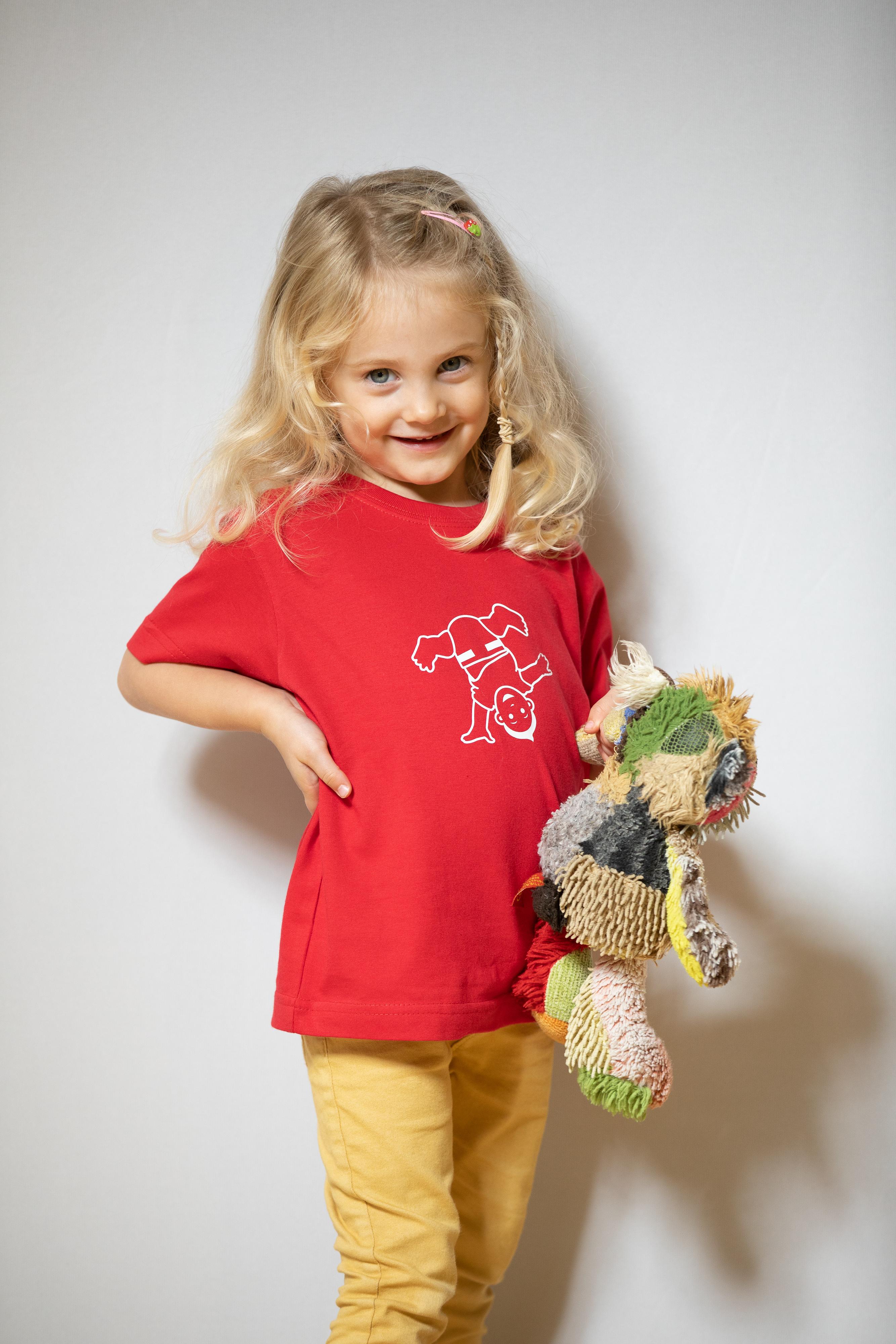 Kinder T-Shirt Rot
